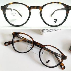 7 ALL MANKIND Tortoiseshell Eyeglass Frames NWT$99